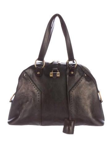 Yves Saint Laurent Leather Muse Bag
