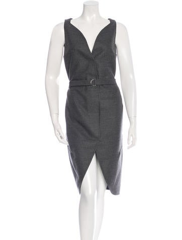 Yves Saint Laurent Sleeveless Wool Dress w/ Tags None