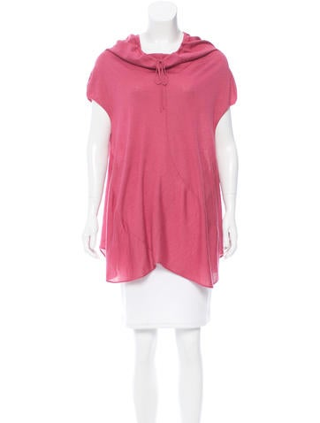 Yves Saint Laurent Sleeveless Wool Top w/ Tags None