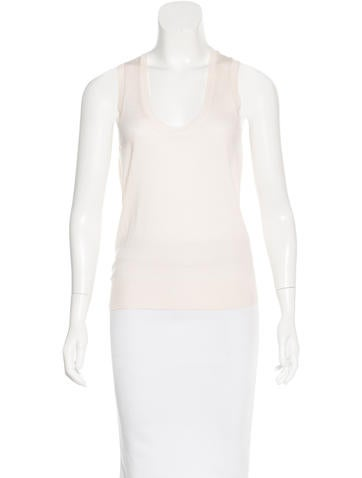 Yves Saint Laurent Knit Wool Top None
