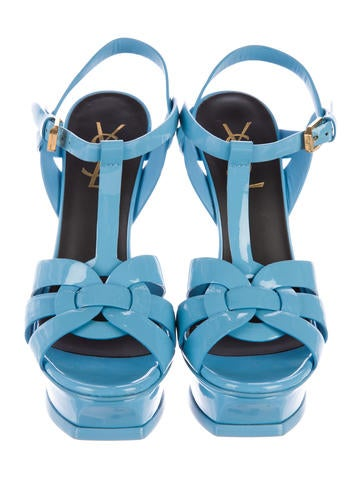 Patent Leather Tribute Sandals