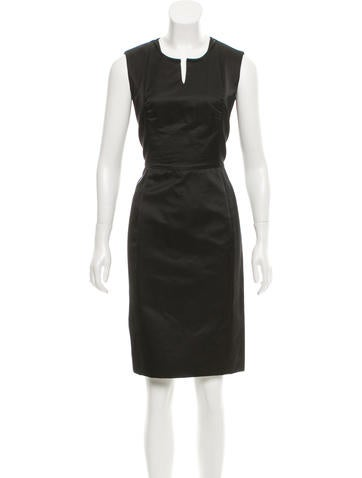 Yves Saint Laurent Wool & Silk-Blend Dress