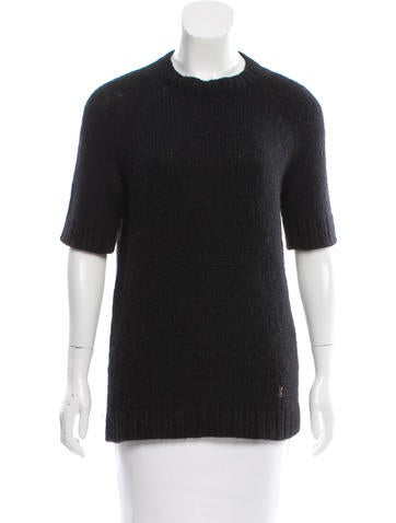 Yves Saint Laurent Alpaca-Blend Sweater None