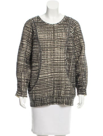 Yves Saint Laurent Oversize Wool Sweater w/ Tags None