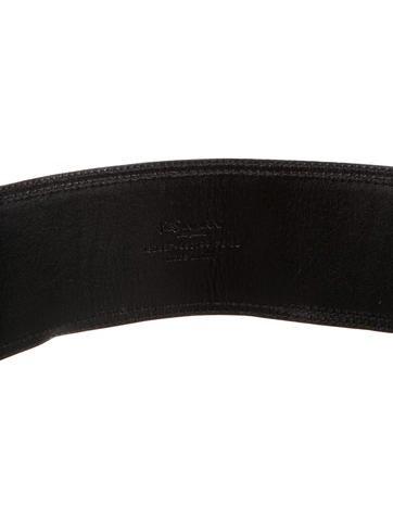 Wide Cheetah Belt