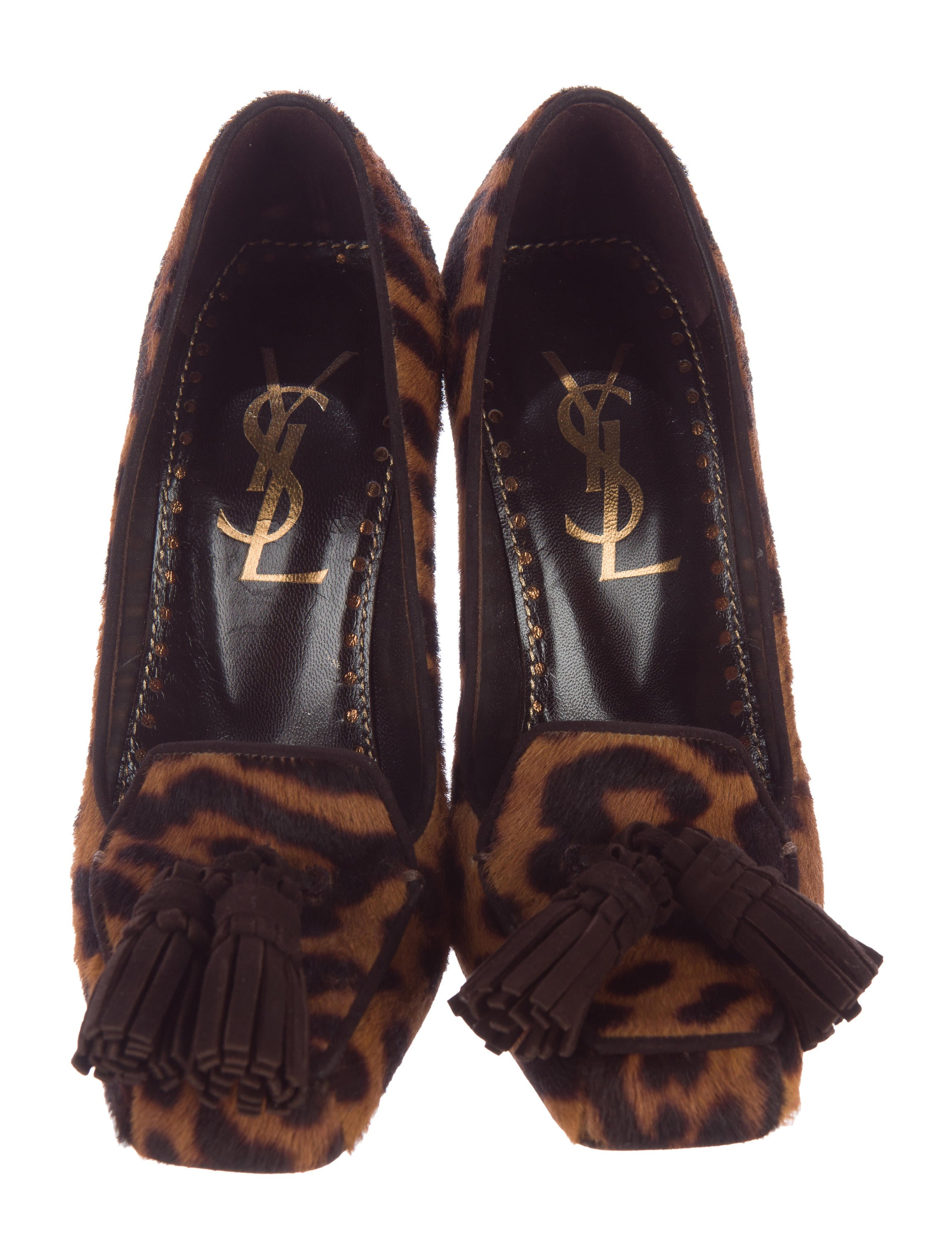 Yves Saint Laurent St. Sulpice Ponyhair Pumps pay with visa for sale affordable discount visa payment wlAb1