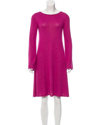 Yves Saint Laurent Cashmere Sweater Dress None