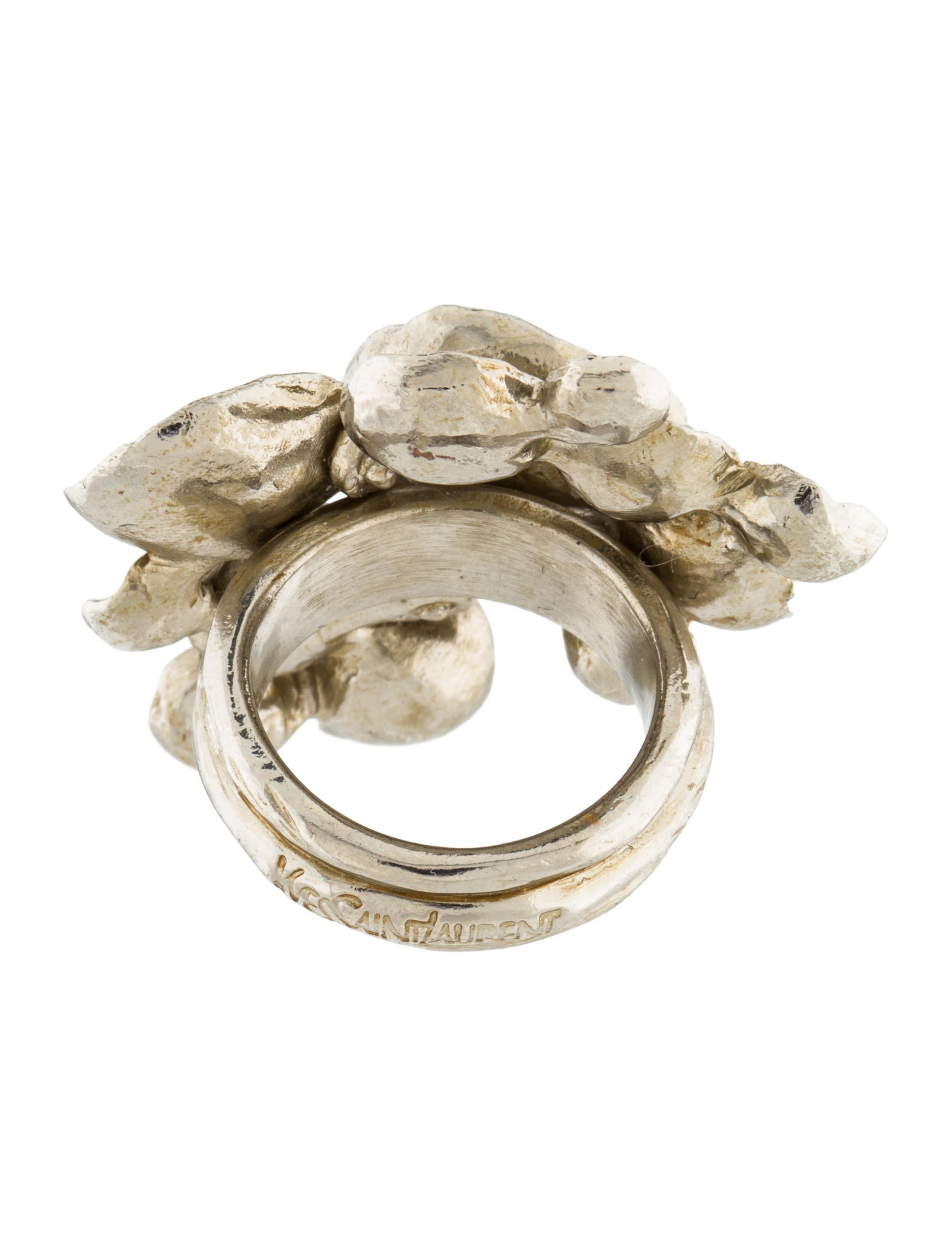 petal camellia ring gallery anna sheffield rainbow jewelry rings gold lyst engagement arty in moonstone