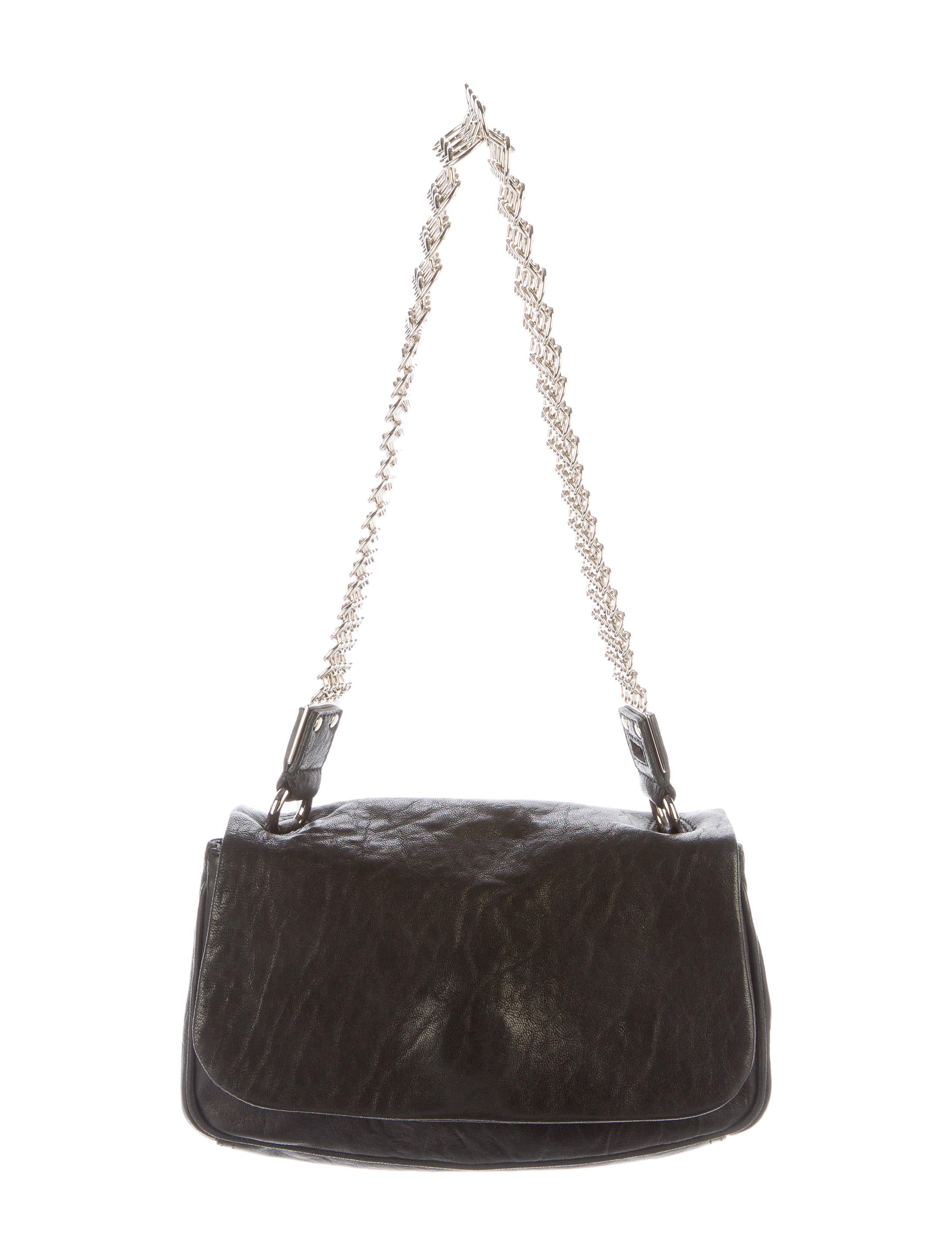 Yves Saint Laurent Leather Chain Shoulder Bag