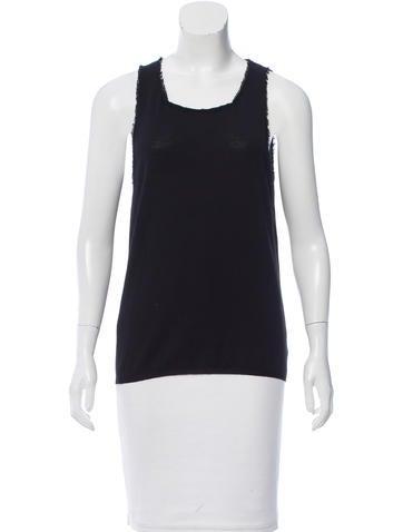 Yves Saint Laurent Wool Sleeveless Top None