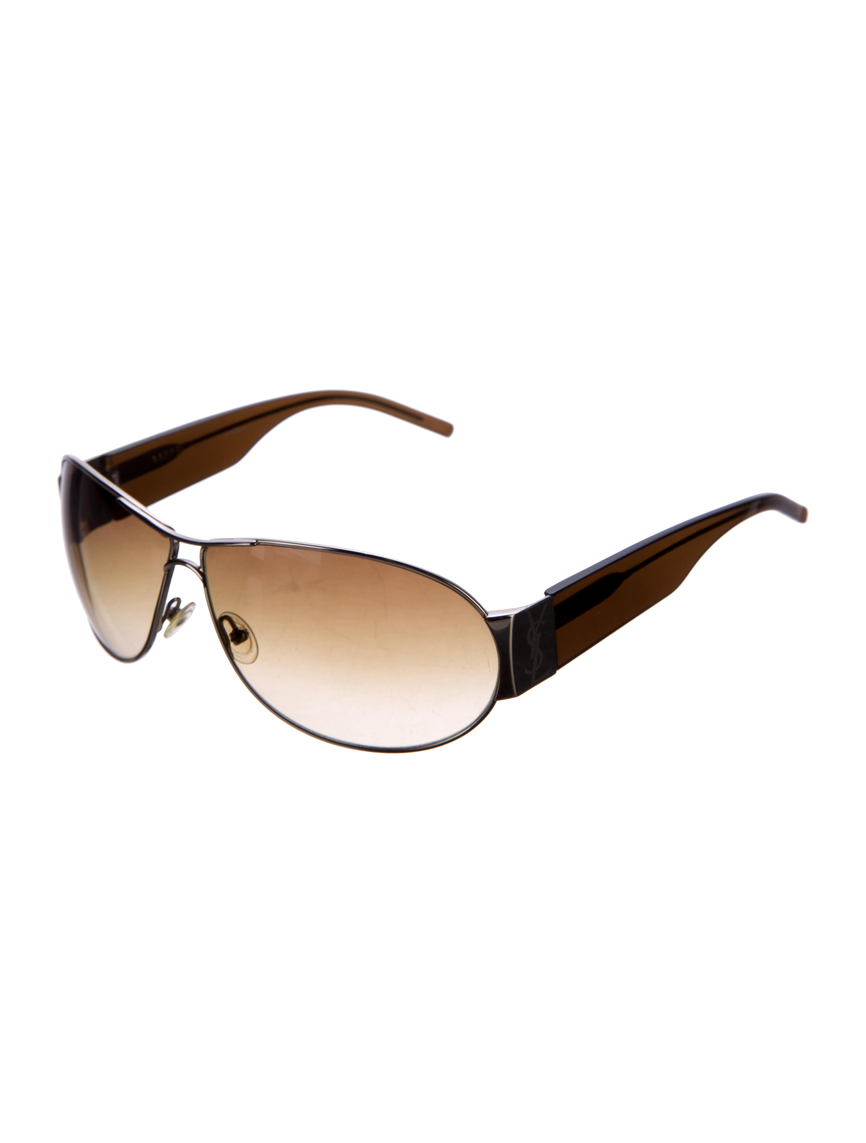 6e41a5b5cd Yves Saint Laurent Gradient Aviator Sunglasses - Accessories - YVE60602