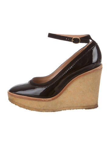 Yves Saint Laurent Ida Platform Wedges None