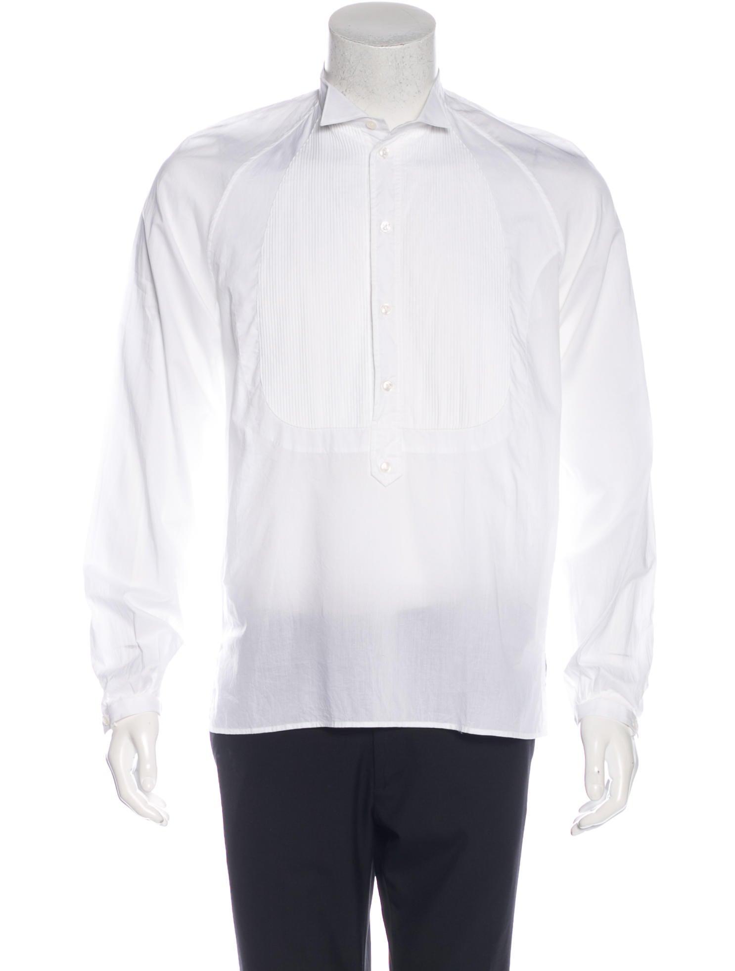 Yves saint laurent tuxedo dress shirt w tags clothing for Yves saint laurent white t shirt
