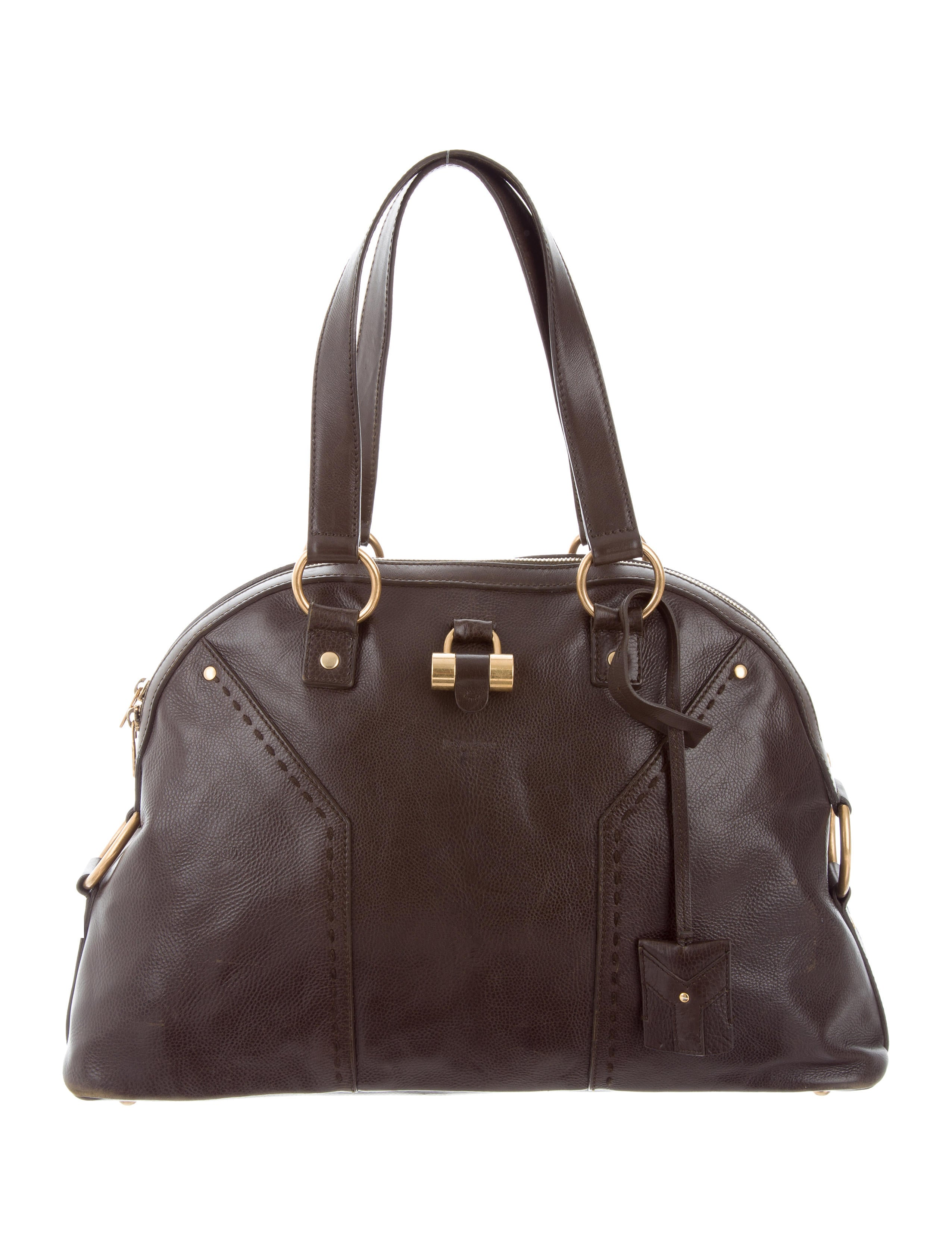 Yves Saint Laurent Leather Muse Bag - Handbags