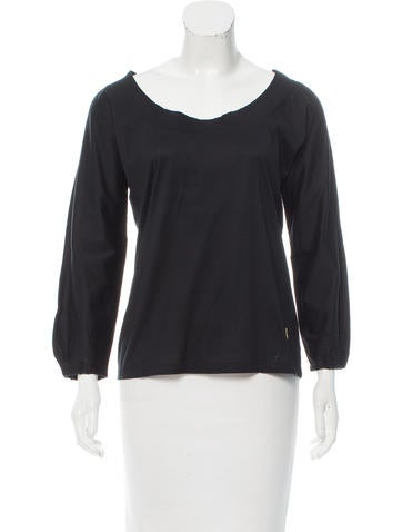 Yves Saint Laurent Knit Logo Top None