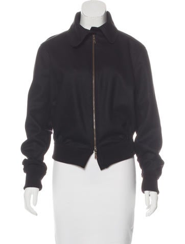 Yves Saint Laurent Wool Collared Jacket None
