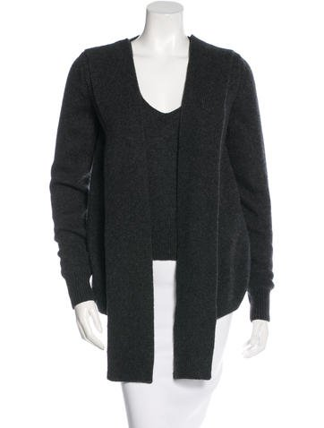 Yves Saint Laurent Virgin Wool & Cashmere-Blend Layered Sweater None