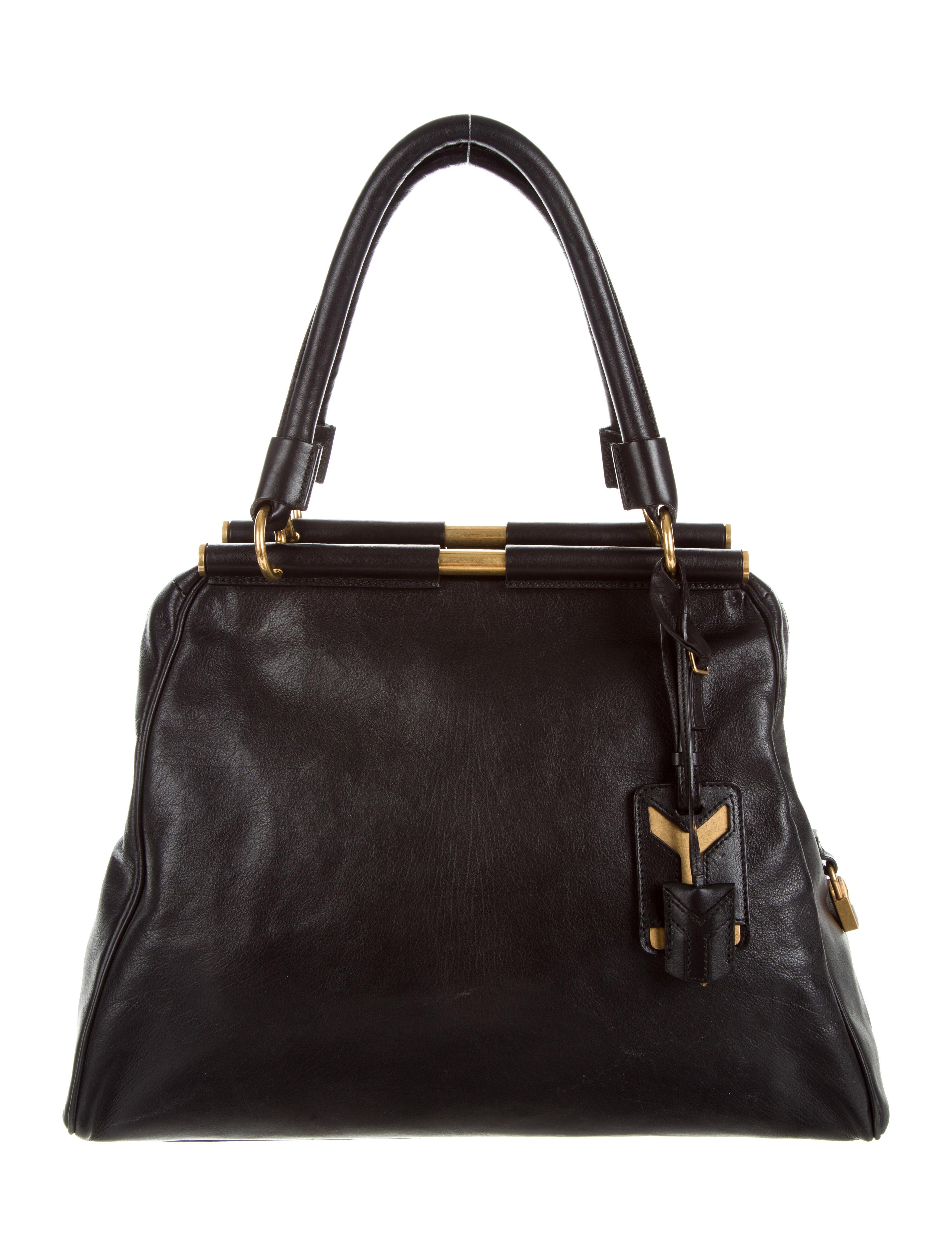 2b4bcc319b2e Yves Saint Laurent Majorelle Leather Bag - Handbags .
