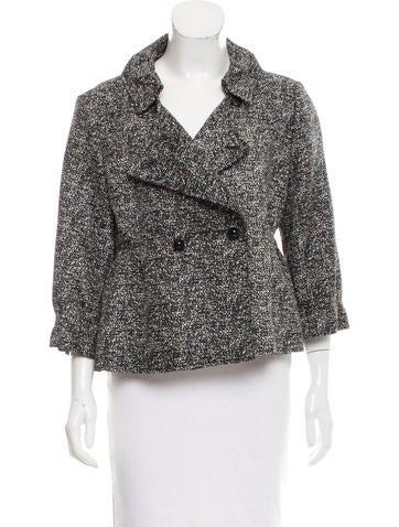 Yves Saint Laurent Silk Button-Up Jacket None