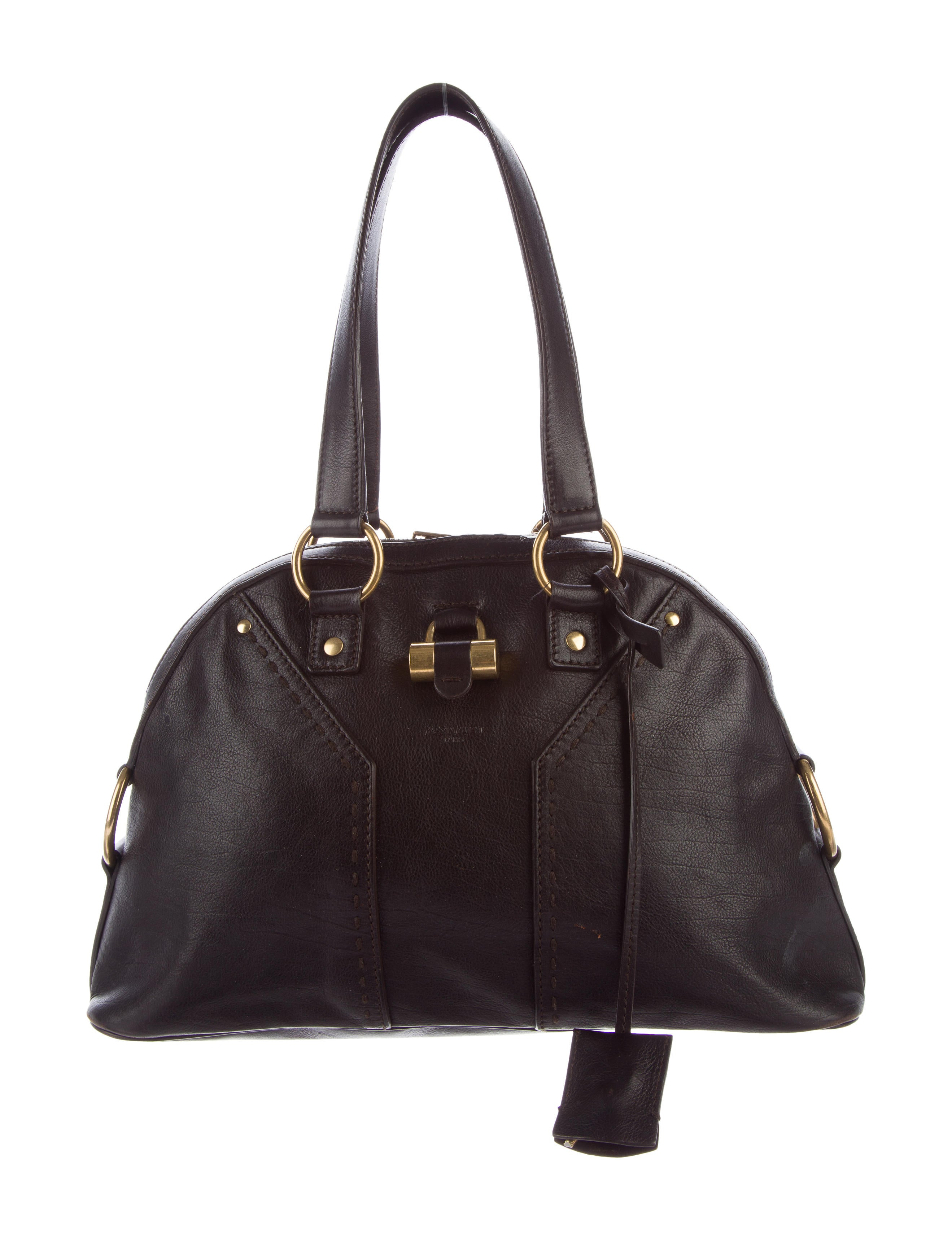 Yves Saint Laurent Small Leather Muse Bag