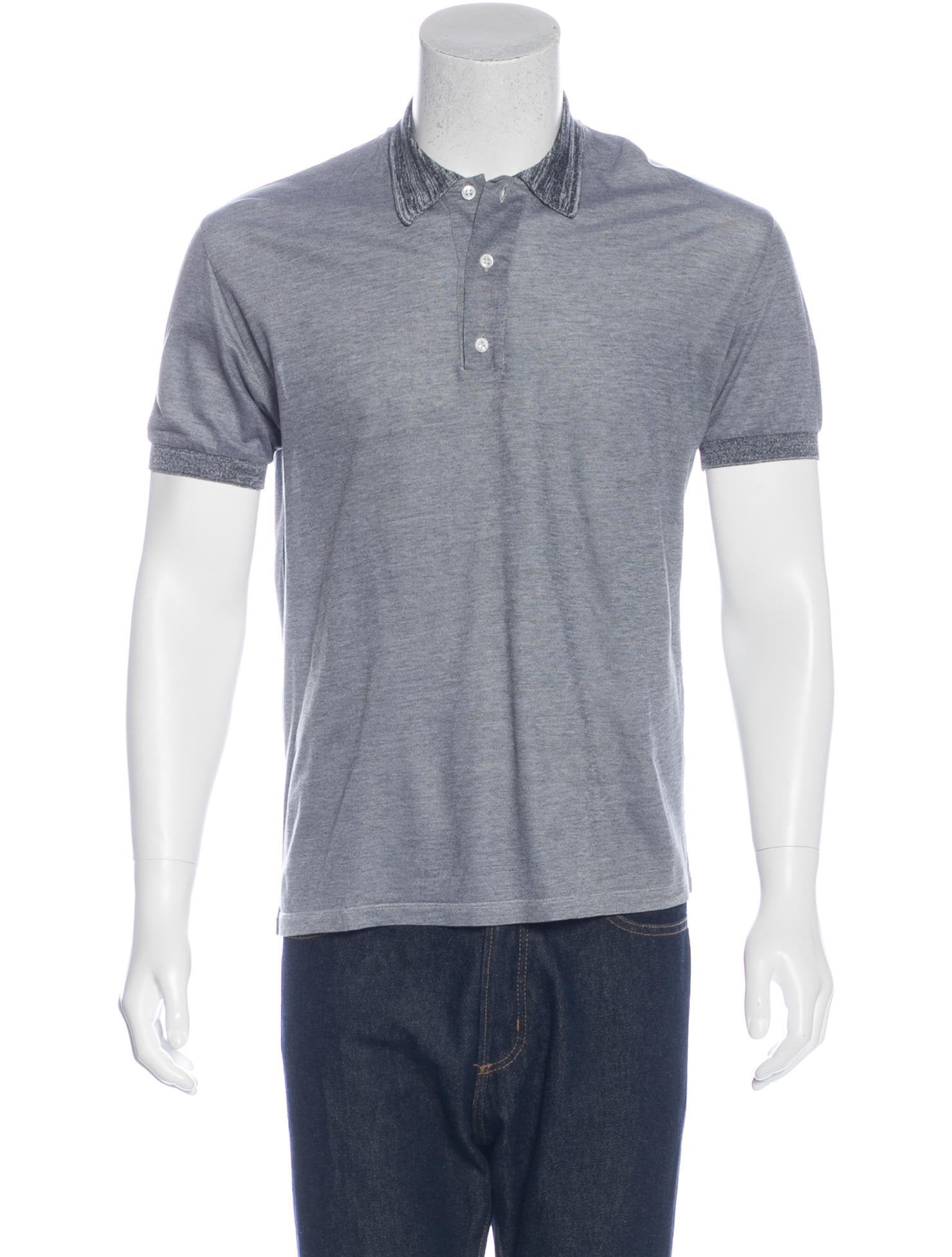 18e2fcaf8 Yves Saint Laurent Short Sleeve Polo Shirt - Clothing - YVE66803 | The  RealReal