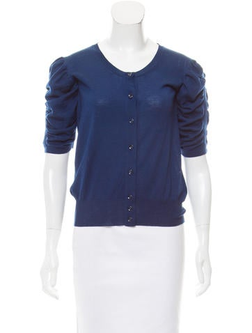 Yves Saint Laurent Wool Knit Cardigan None