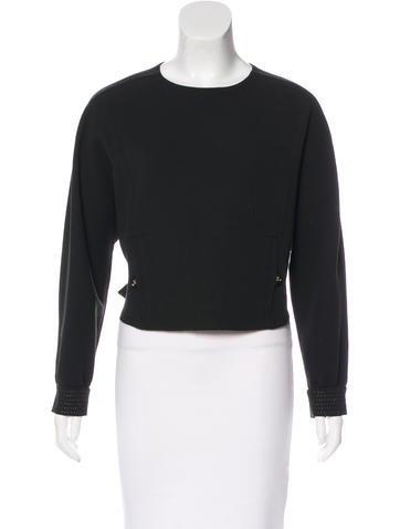 Yves Saint Laurent Wool Crop Top None