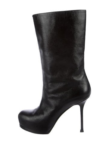 cheap sale find great Yves Saint Laurent Tribute Two Platform Mid-Calf Boots cheap footlocker finishline deals cheap price find great cheap online cheap real 6c0Pb