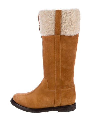 Yves Saint Laurent Aspen Knee-High Boots cheap visit cheap from china where can you find shop cheap online CIa7freL
