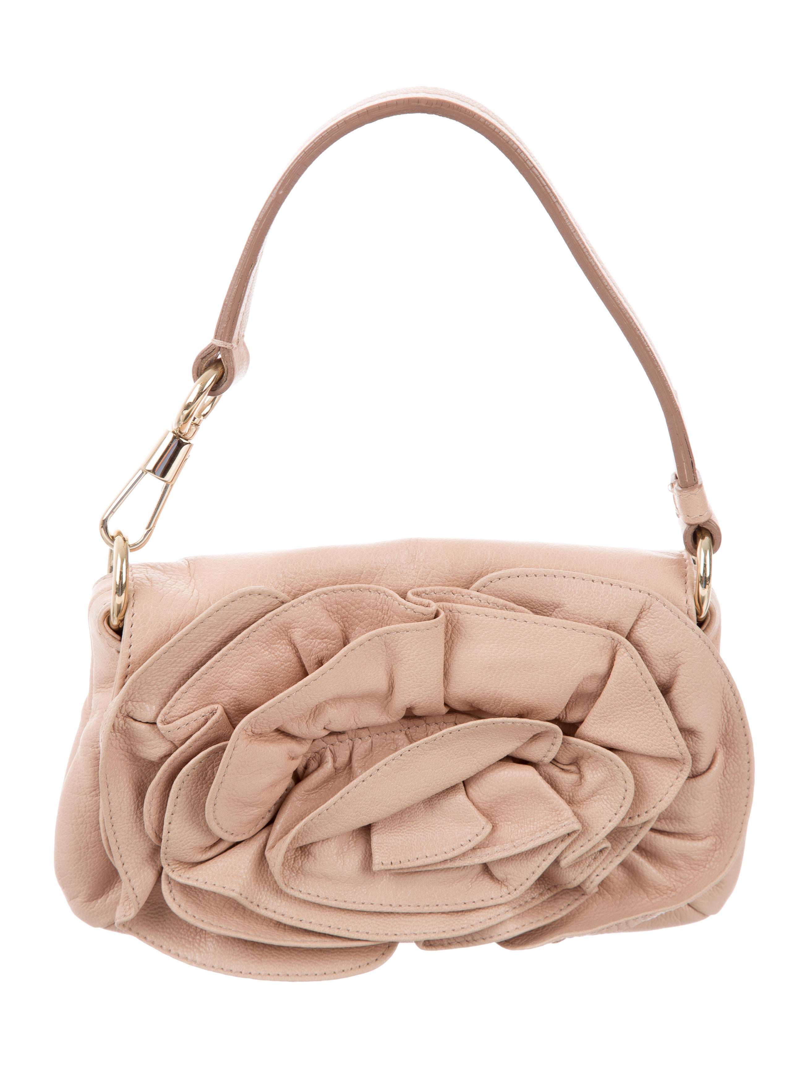 4753aae7fe Yves Saint Laurent Mini Nadja Rose Bag - Handbags .