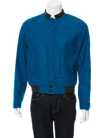 Yves Saint Laurent Virgin Wool Bomber Jacket None