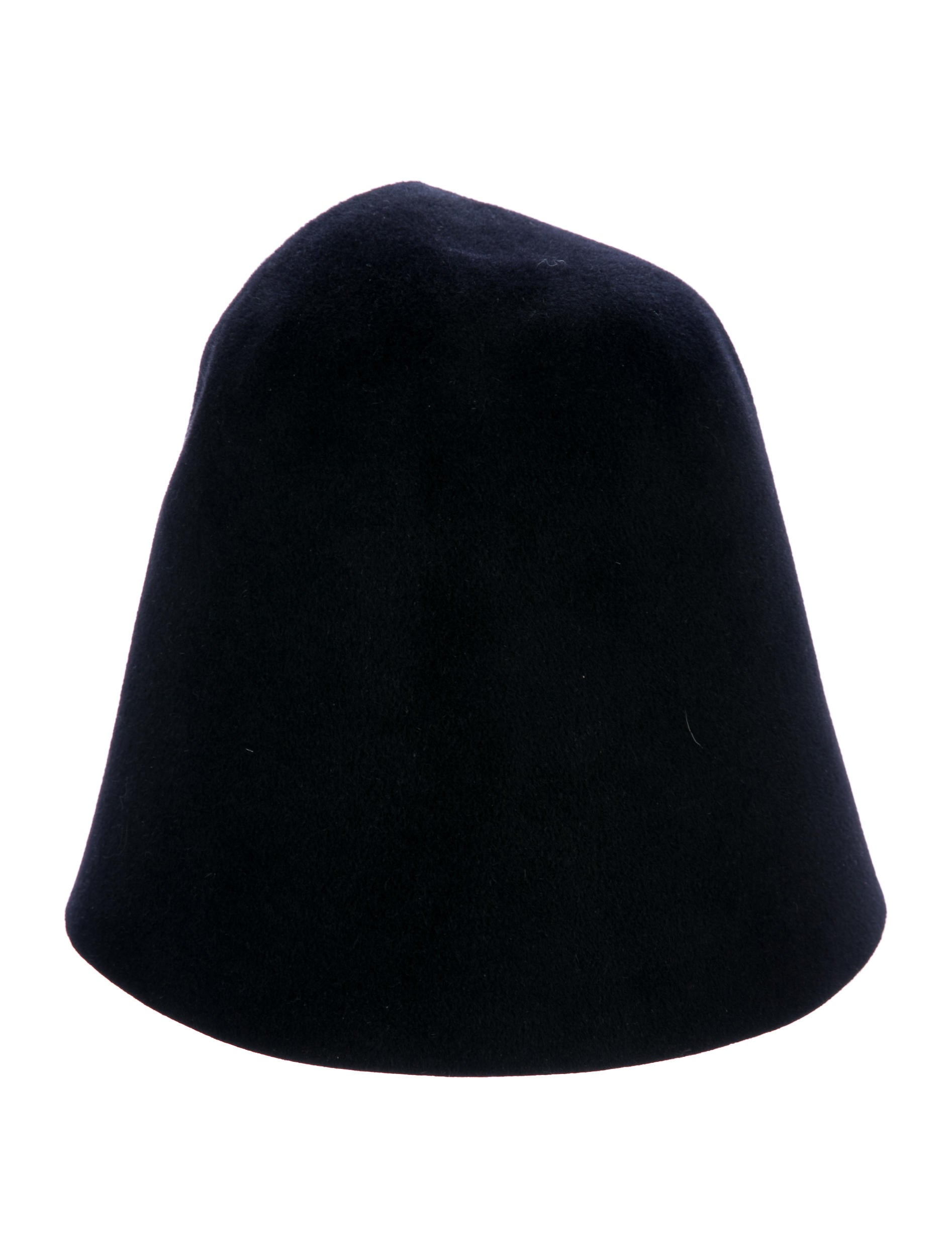 fc9f7417caf Yves Saint Laurent Felt Bucket Hat - Accessories - YVE72121