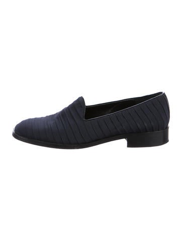 Yves Saint Laurent Ruched Square-Toe Loafers sale reliable sale limited edition buy cheap supply clearance with paypal JnbFpdvf