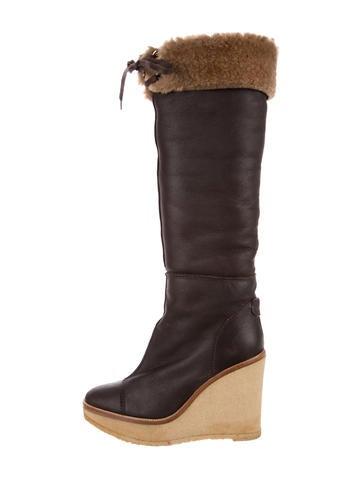 Yves Saint Laurent Ida Knee-High Boots None