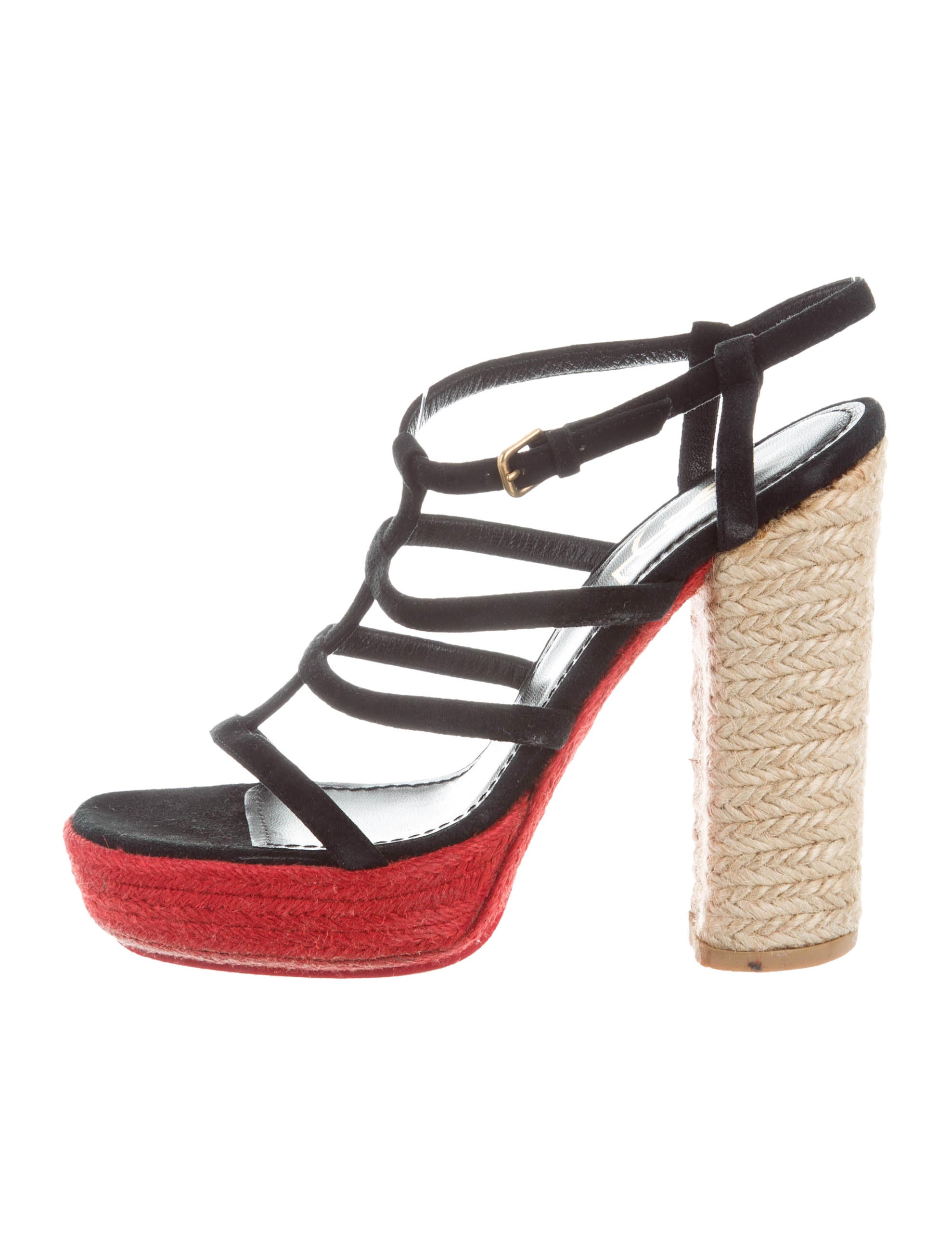 Yves Saint Laurent Platform Cage Sandals cheap outlet locations deals buy cheap buy really cheap shoes online store online 8QyNA