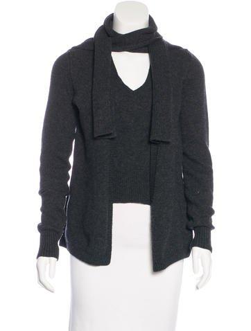 Yves Saint Laurent Wool Layered Sweater None