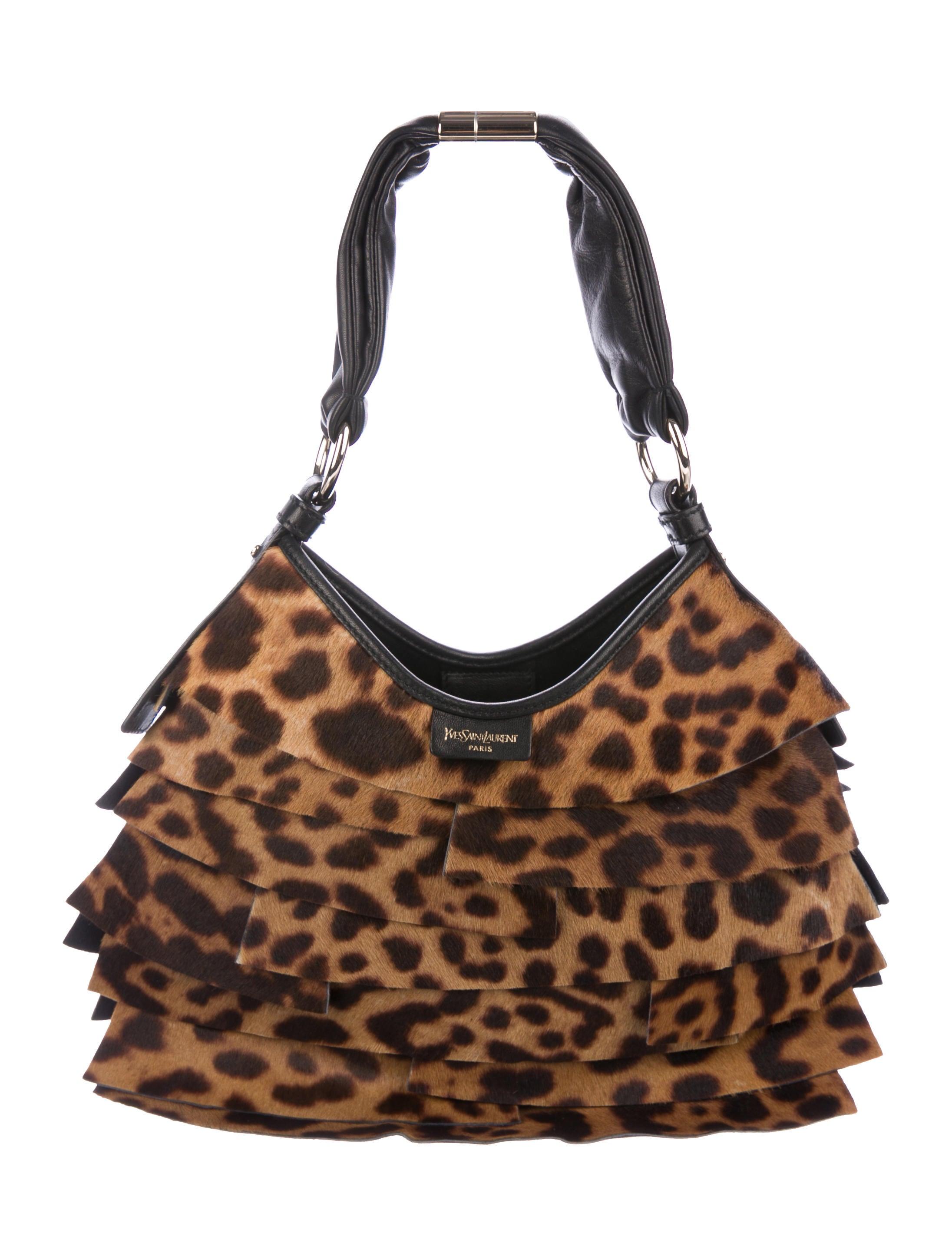 ff12bfa4d206 Yves Saint Laurent Ponyhair St. Tropez Bag - Handbags - YVE75127 ...