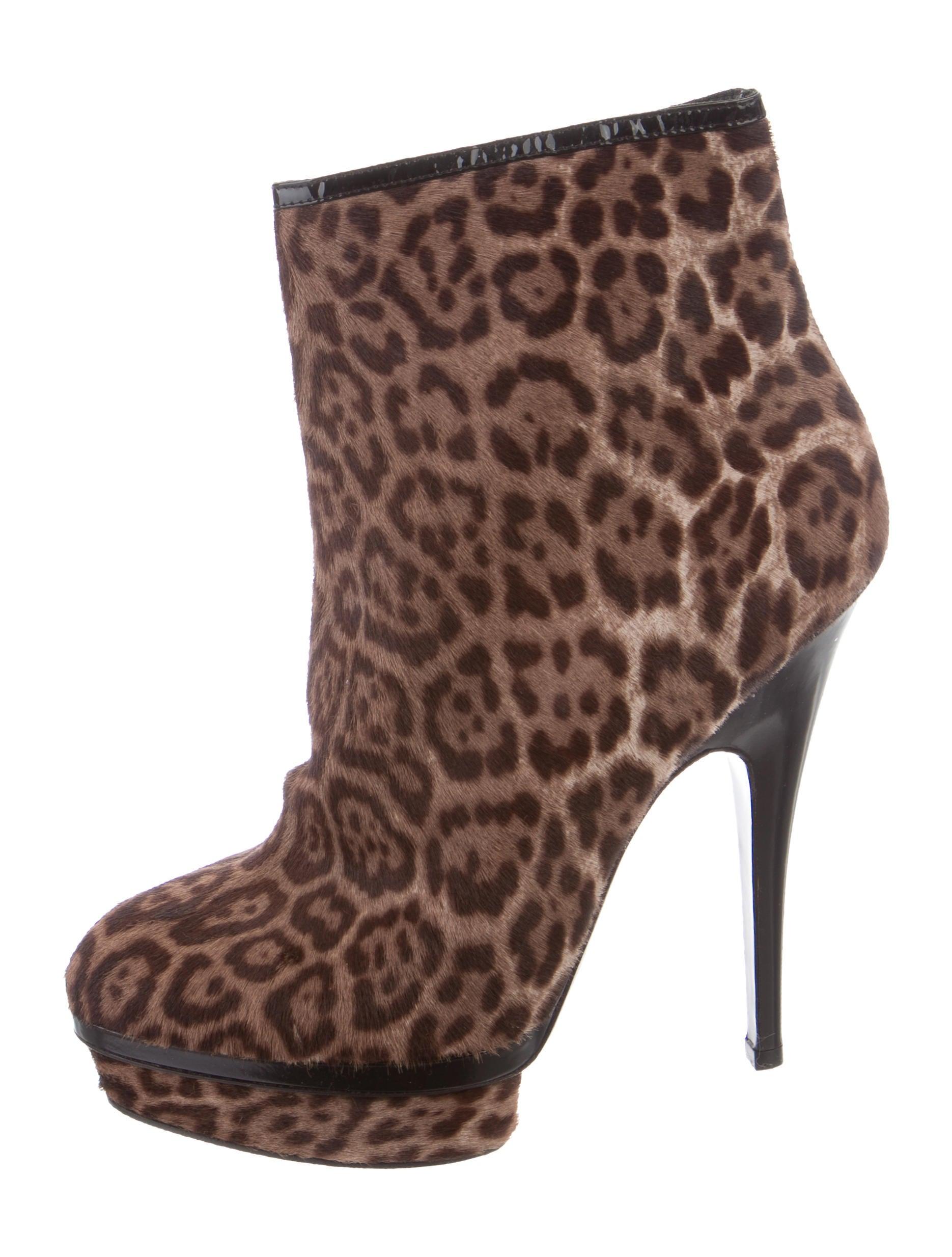100% guaranteed online cheap good selling Yves Saint Laurent Ponyhair Platform Booties fashion Style YKAjK