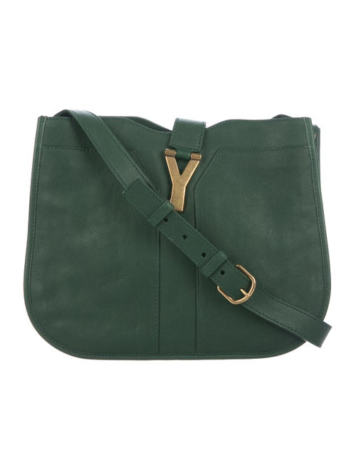 Yves Saint Laurent Leather Medium Cabas Chyc Shoulder Bag - Handbags ... 2caf7bf232