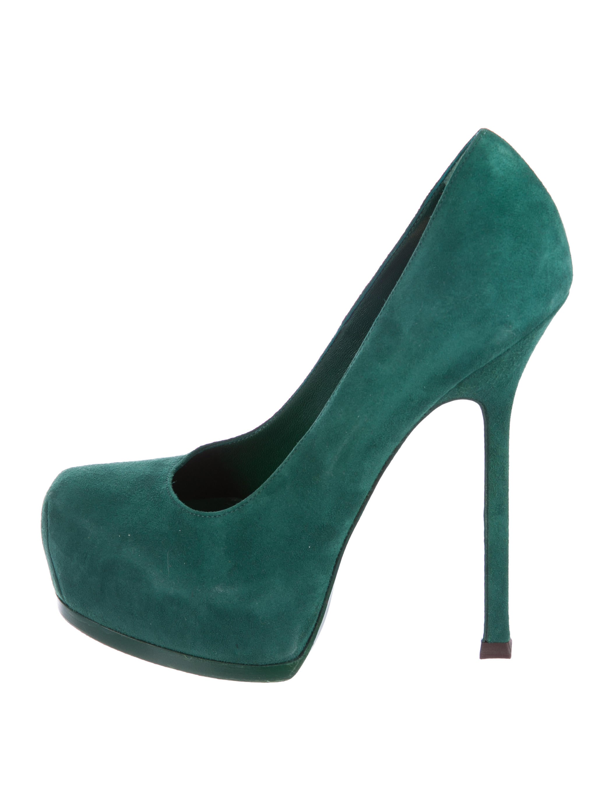 Yves Saint Laurent Suede Tribute Two Pumps cheap genuine original sale online ebay how much 1uqXmL