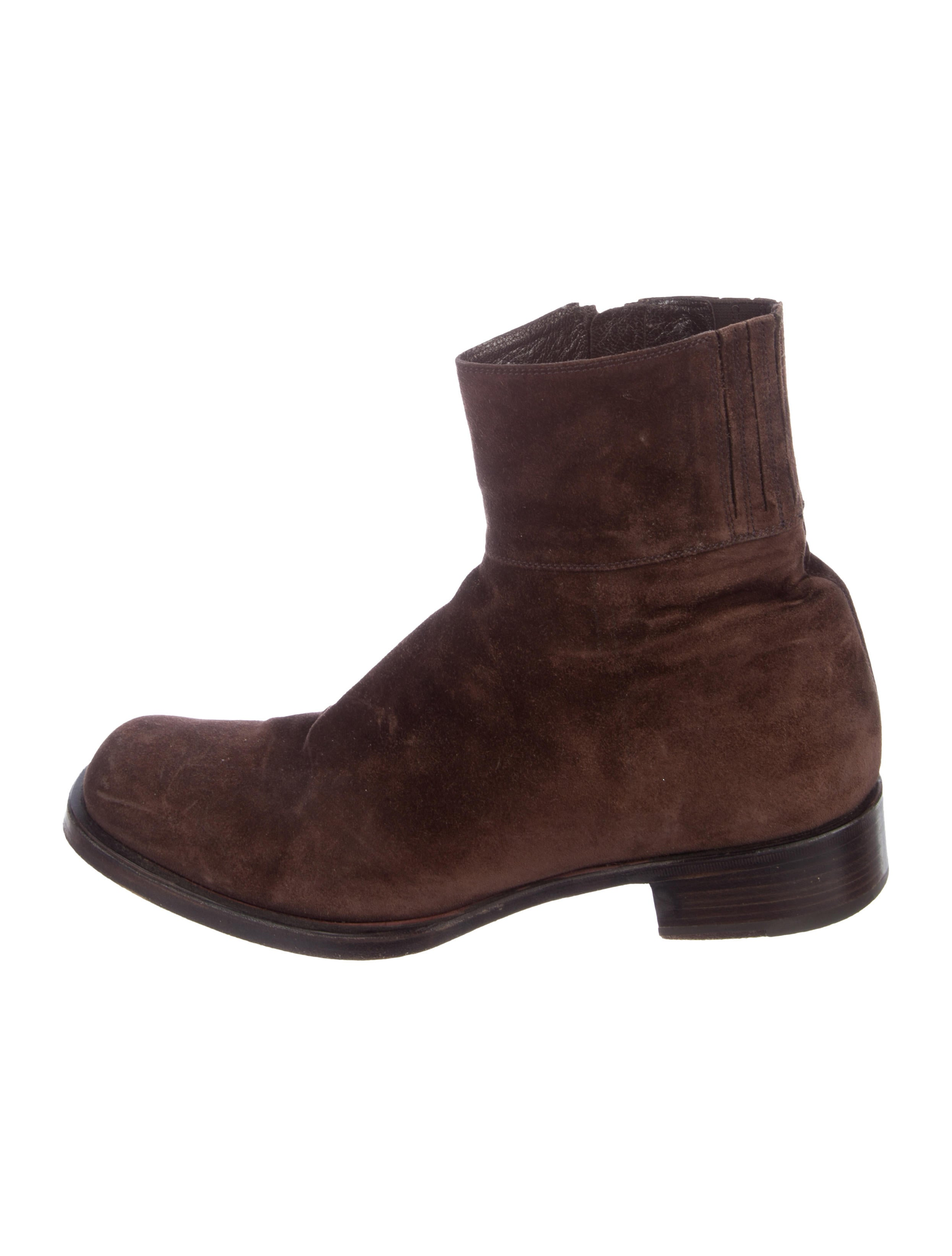 501cadfa103 ... coupon code yves saint laurent suede ankle boots. suede ankle boots  aba36 a7211