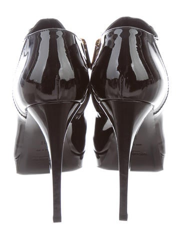 Yves Saint Laurent Gaby 90 Booties w/ Tags sale low shipping fee Njs5h0oBS