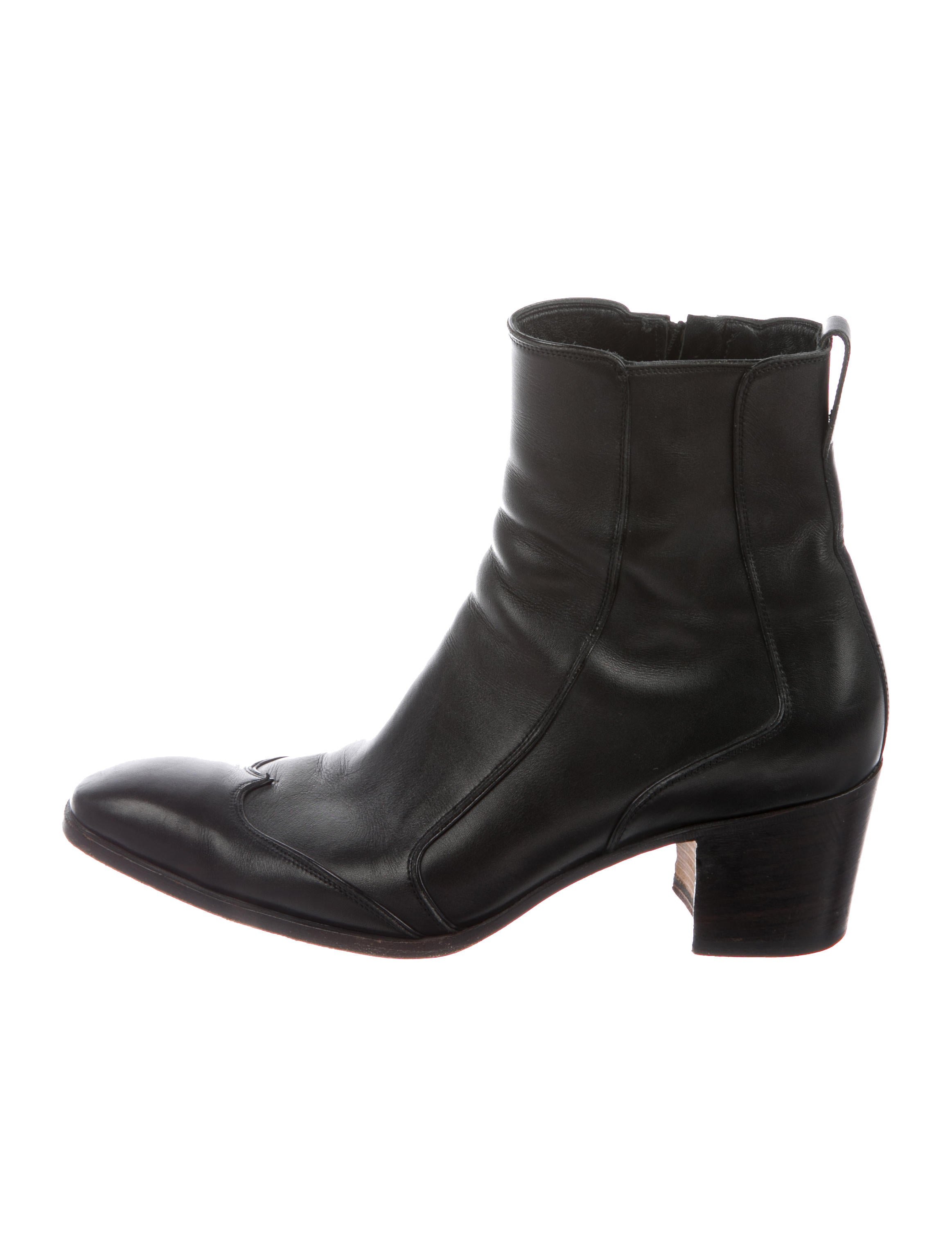 5f8a2803be1 Yves Saint Laurent Johnny 65 Boots - Shoes - 0YV10068 | The RealReal