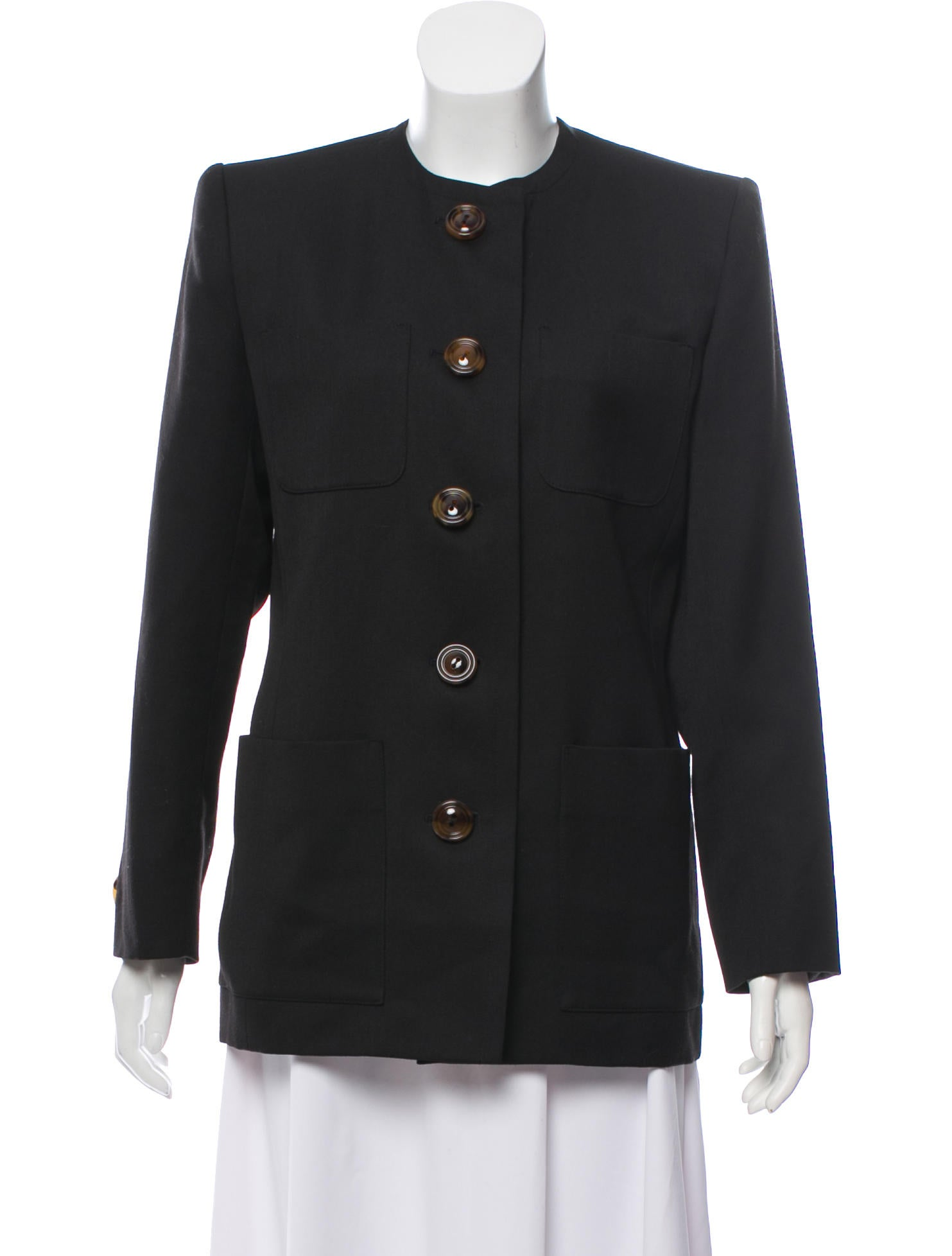 d44a04e5020 ... Yves Saint Laurent Vintage Structured Jacket. Vintage Structured Jacket