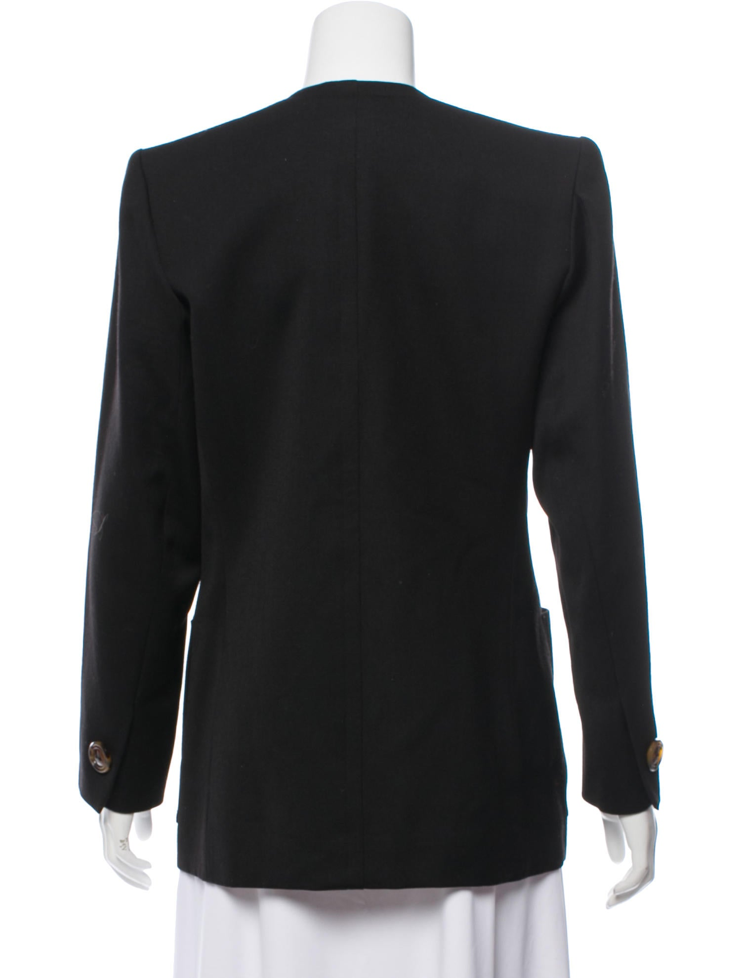 887fa136039 Yves Saint Laurent Vintage Structured Jacket - Clothing - YVE84885 ...