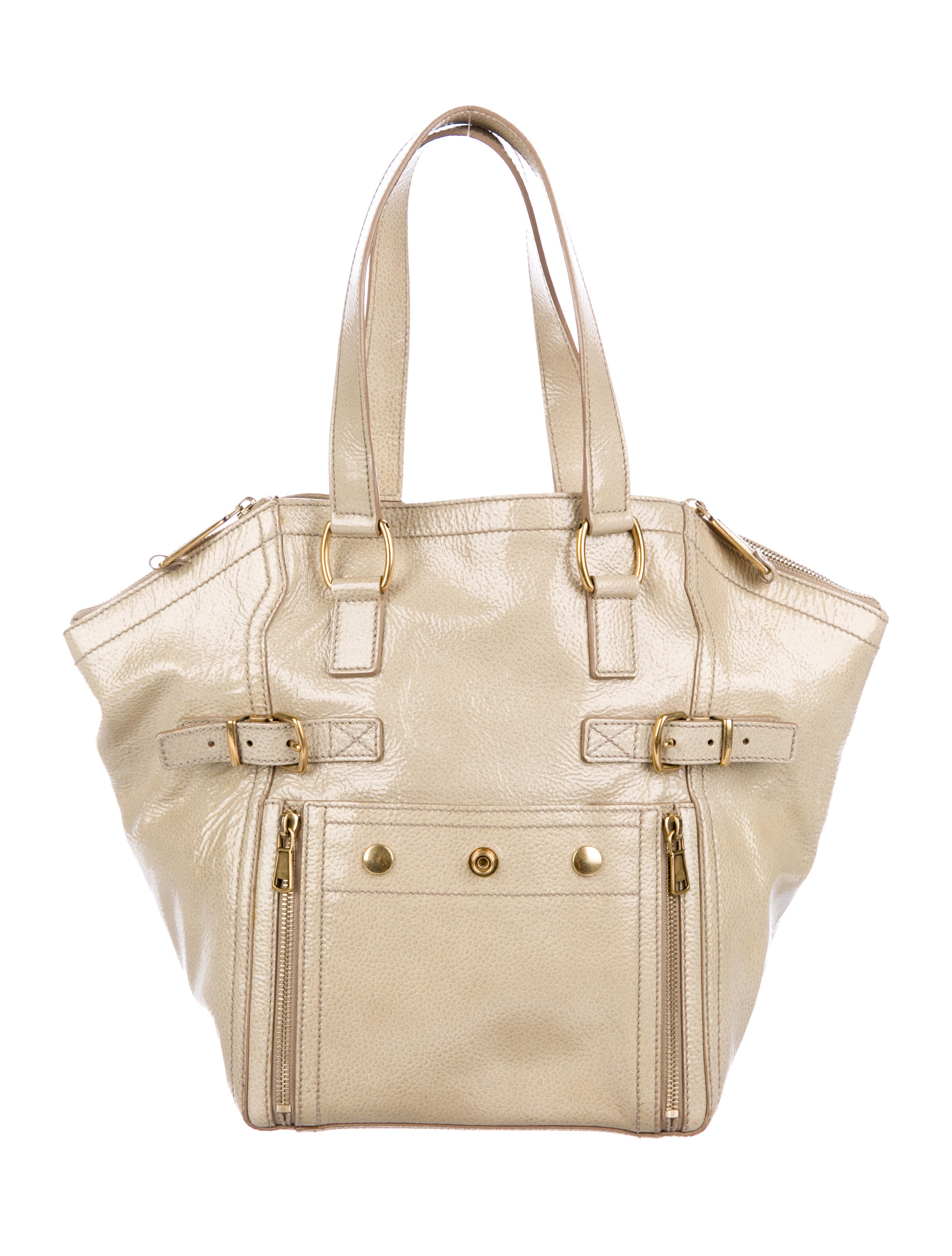 05e30fc07863 Yves Saint Laurent Patent Leather Small Downtown Bag. Patent Leather Small  Downtown ...