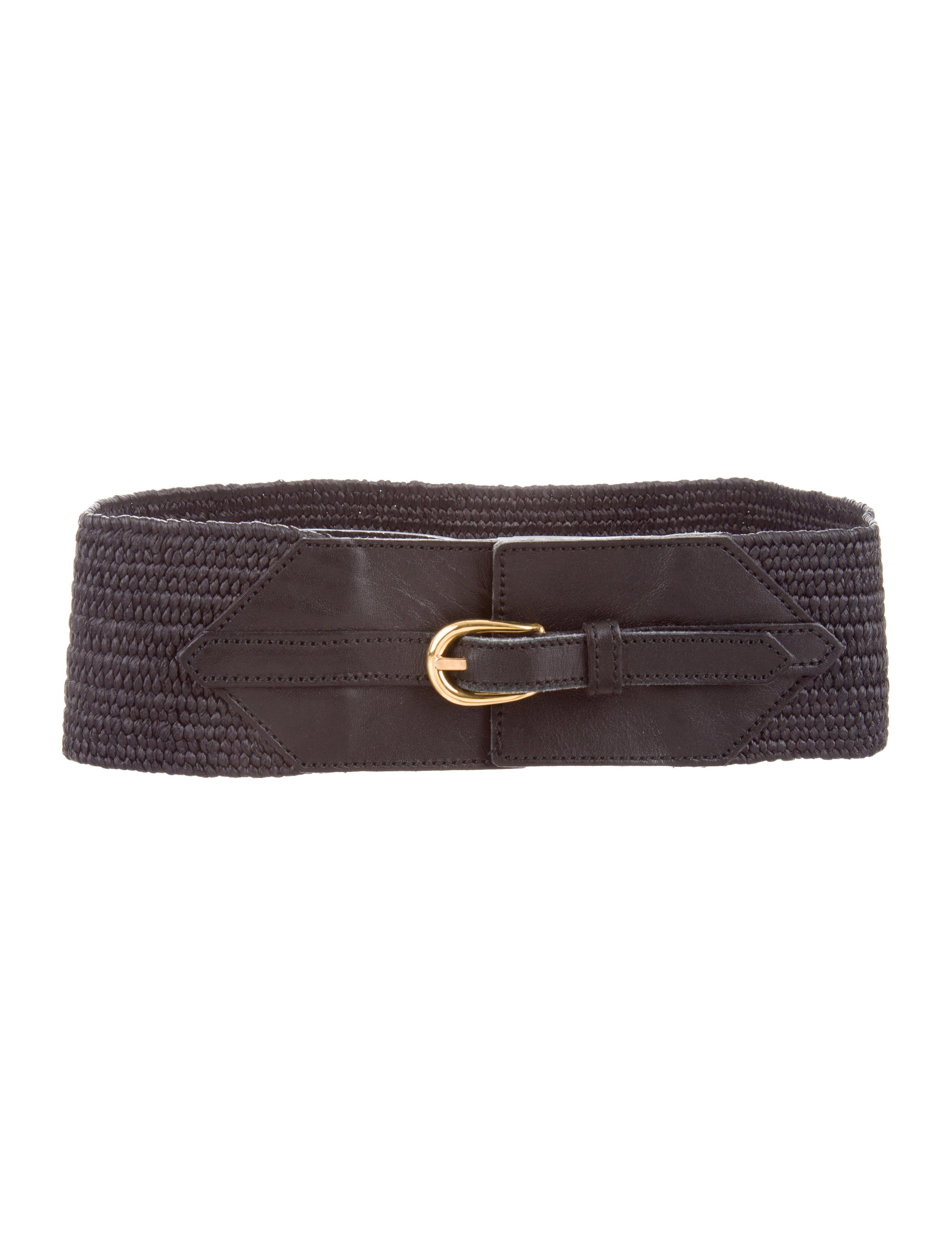 907b007d863e Yves Saint Laurent Elastic Buckle Belt - Accessories - YVE89407 ...