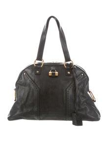8ff68f9c396d Yves Saint Laurent. Leather Muse Bag