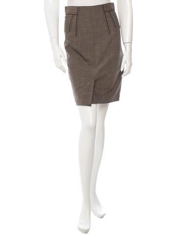 Zac Posen Virgin Wool Skirt w/ Tags