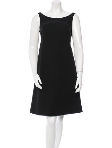 Zac Posen Wool Sleeveless Dress